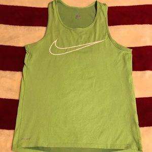 Men's Nike Running Tank Top.
